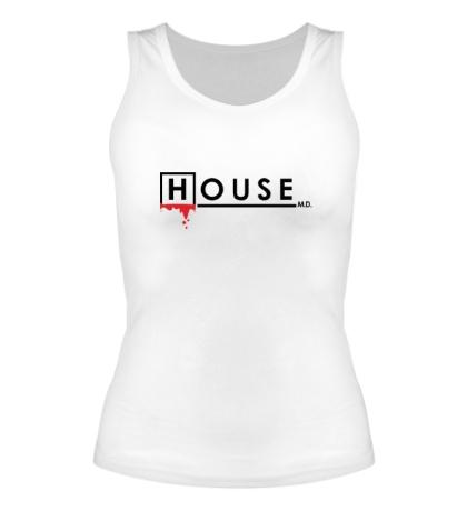 Женская майка House MD: Blood