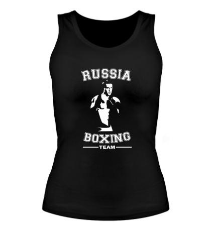 Женская майка Russia Boxing Team