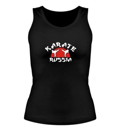Женская майка Karate Russia
