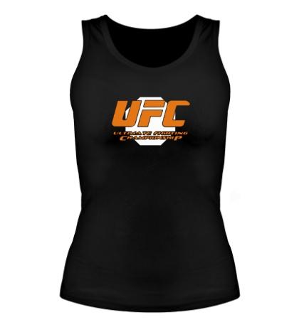 Женская майка UFC