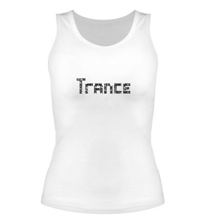 Женская майка Trance Sign