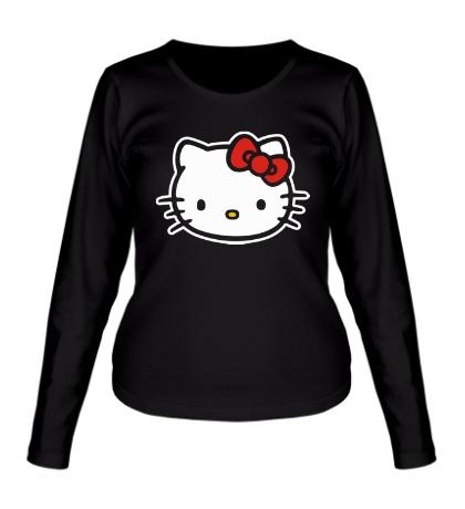 Женский лонгслив Hello Kitty