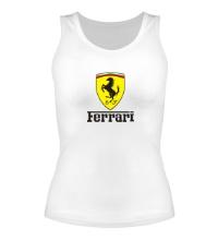 Женская майка Ferrari Shield