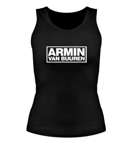 Женская майка Armin van Buuren Logo