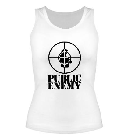 Женская майка Public Enemy