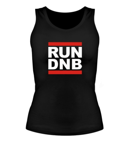 Женская майка Run dnb