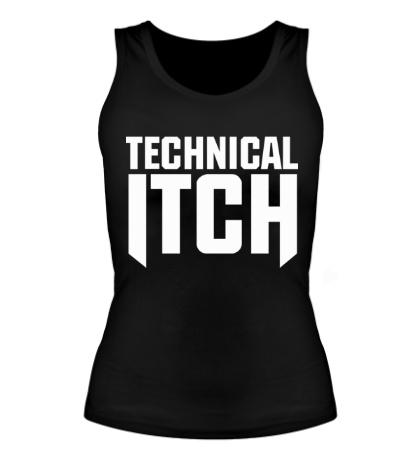 Женская майка Technical Itch