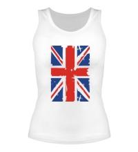 Женская майка Британский флаг