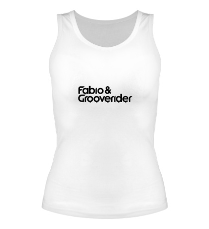 Женская майка Fabio Grooverider