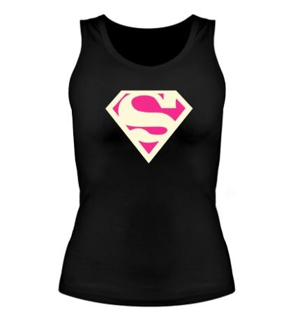 Женская майка Acid Superman