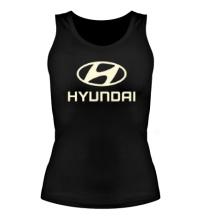 Женская майка Hyundai Glow