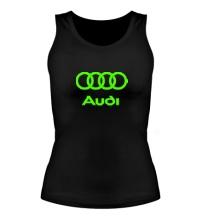 Женская майка Audi Glow