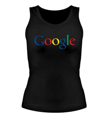 Женская майка Google