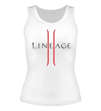 Женская майка Lineage 2