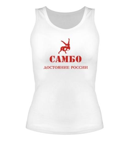 Женская майка Самбо, достояние России