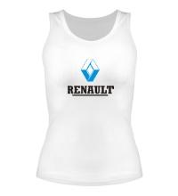 Женская майка Renault Logo