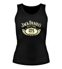 Женская майка Jack Daniels: Old Time Glow