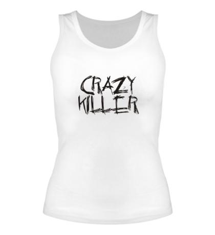 Женская майка Crazy Killer