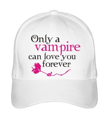 Бейсболка Vampire love forever