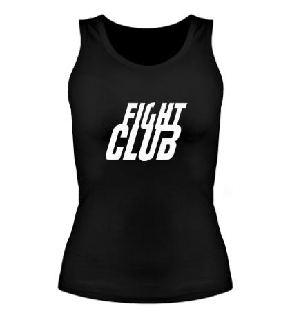 Женская майка Fight Club