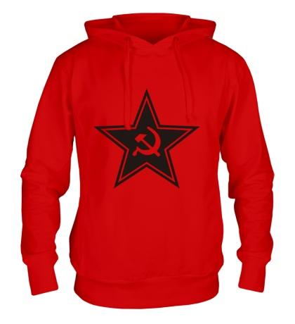 Толстовка с капюшоном Звезда СССР