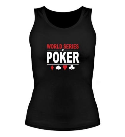Женская майка World Series Poker