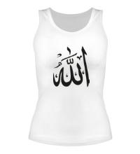 Женская майка Аллах
