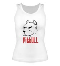 Женская майка Pitbull