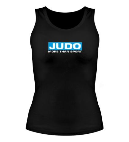 Женская майка Judo more then sport