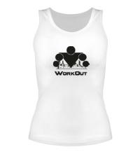 Женская майка Workout City