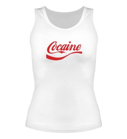 Женская майка Cocaine