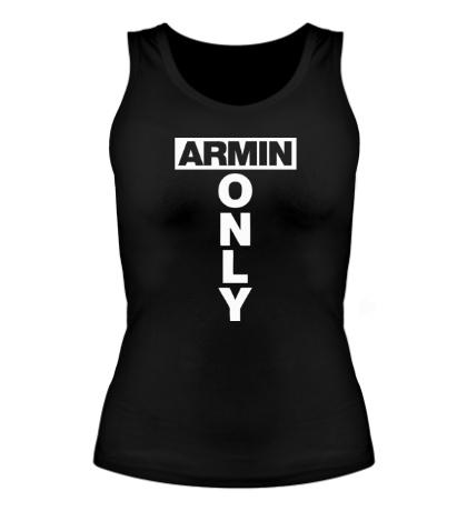 Женская майка Armin Only Sign