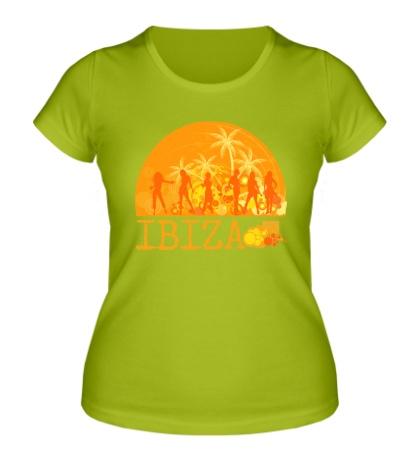 Женская футболка Ibiza Sun