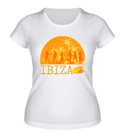 Женская футболка «Ibiza Sun»