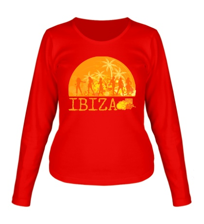Женский лонгслив Ibiza Sun