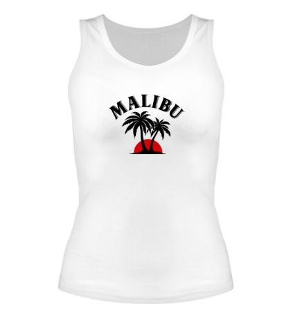 Женская майка Malibu Rum