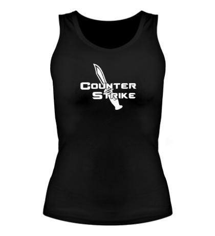 Женская майка Counter-Strike Knife
