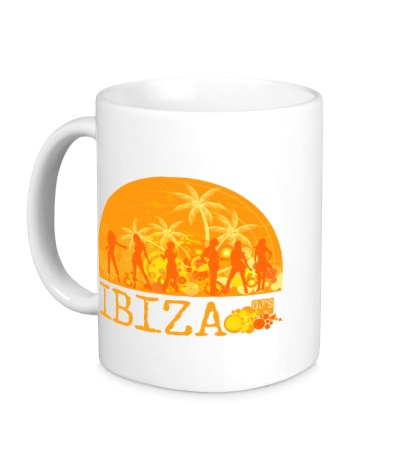 Керамическая кружка «Ibiza Sun»