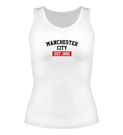 Женская майка FC Manchester City Est. 1880