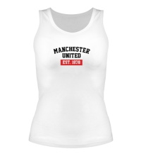 Женская майка FC Manchester United Est. 1878