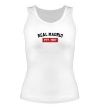 Женская майка FC Real Madrid Est. 1902