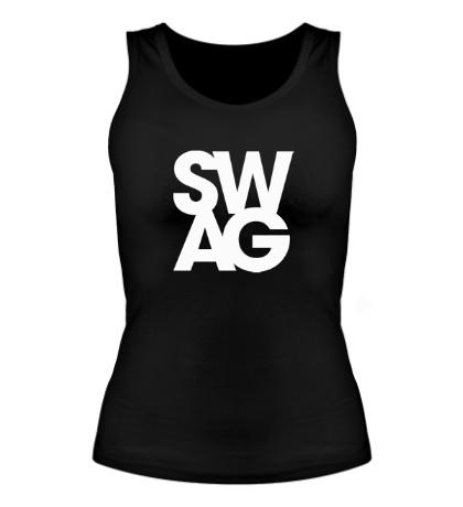 Женская майка «Swag»