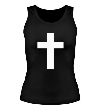 Женская майка Классический крест