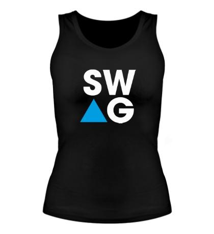 Женская майка SW-AG Triangle