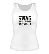 Женская майка Swag University