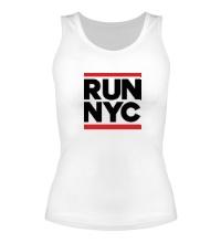 Женская майка Run NYC