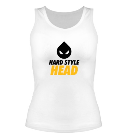 Женская майка Hard Style Head