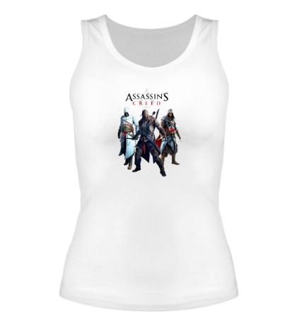 Женская майка Assassins Creed Hunters