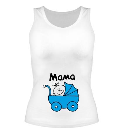 Женская майка Ребенок в коляске