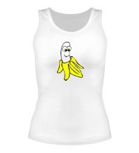 Женская майка Веселый банан